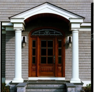 Fiberglass Replacement Doors. Front Entry Door Replacement