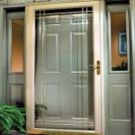 storm door installation
