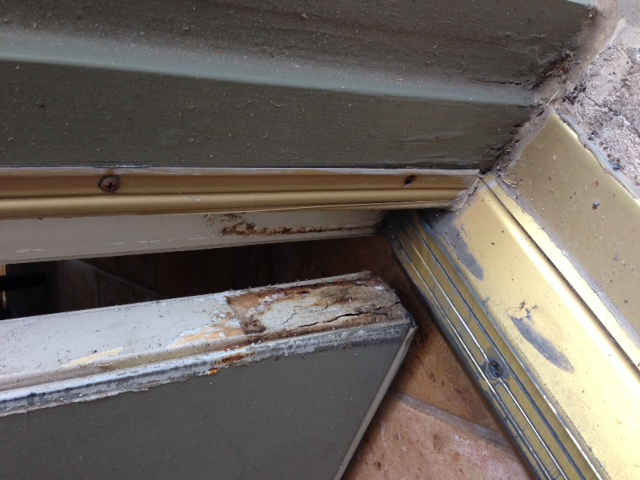 Replacing Rotted Exterior Door Frames Dallas Fort Worth Texas