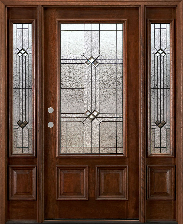 Fiberglass entry doors masonite therma tru lowes home depot for Fiberglass entry doors