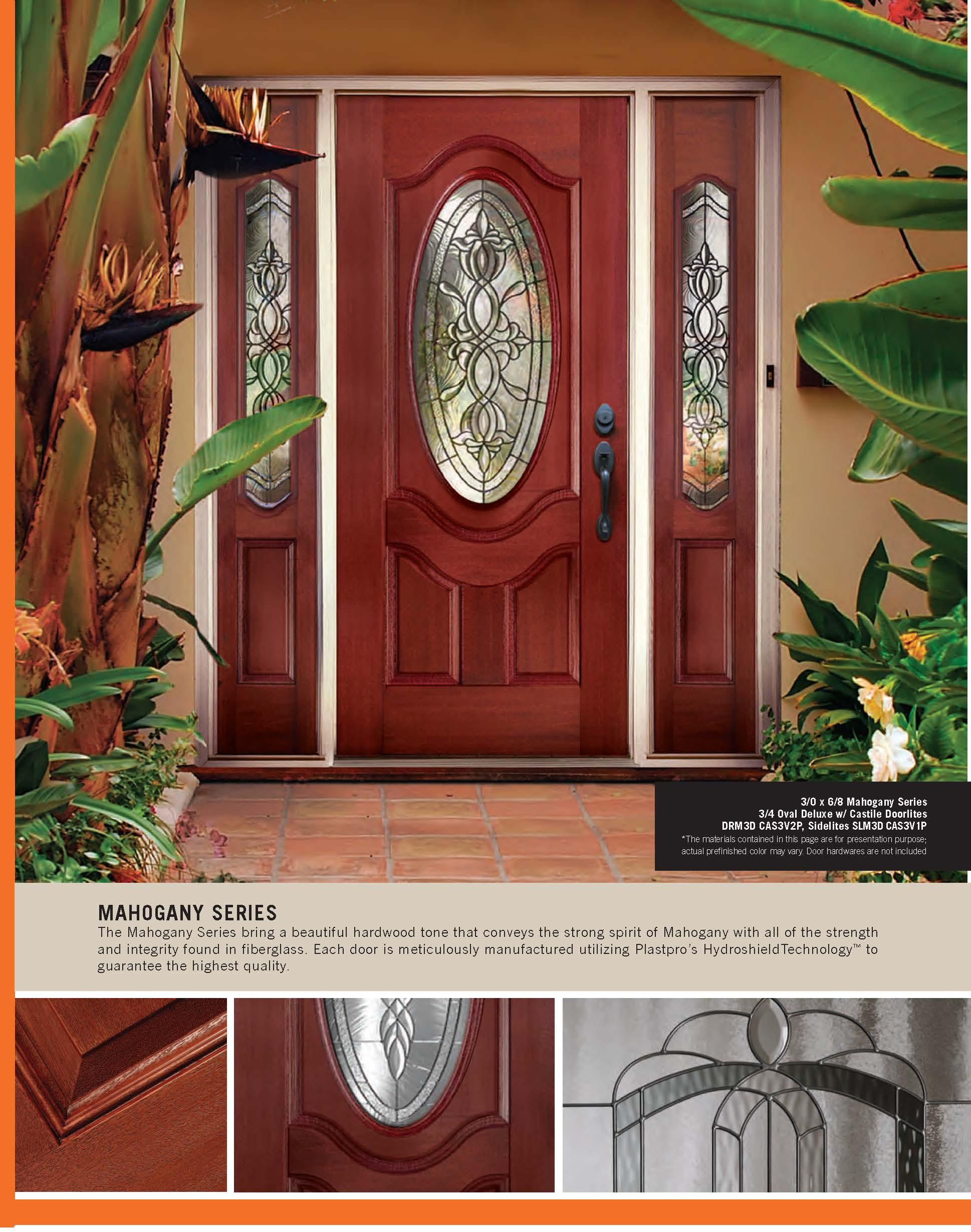 Fiberglass Entry Door Systems Pdr Doors