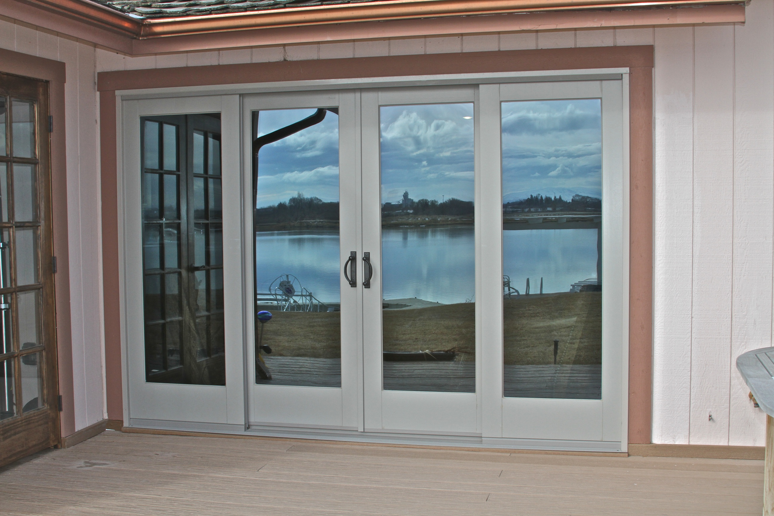 Sliding patio doors pro door repair for Sliding door front door