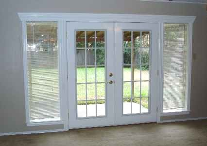 Lovely Hinged Patio Doors
