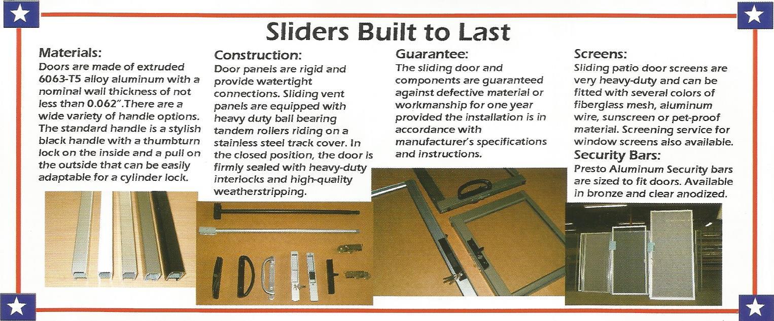 Sliding Patio Doors by Metal-Craft-Pro Door Repair