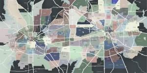 Dallas-Fort-Worth-Map ZIP CODE